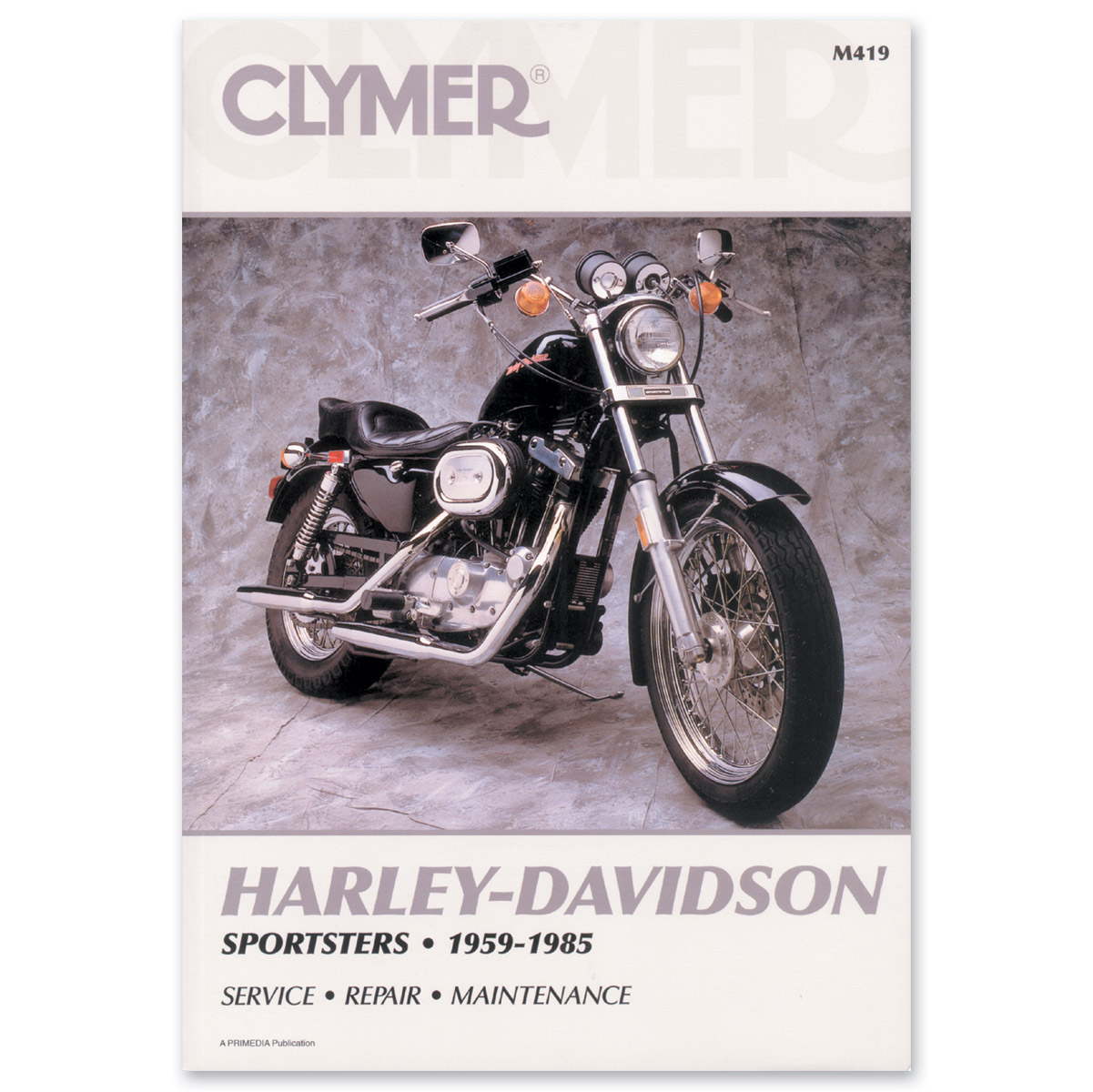 Clymer Sportster Repair Manual