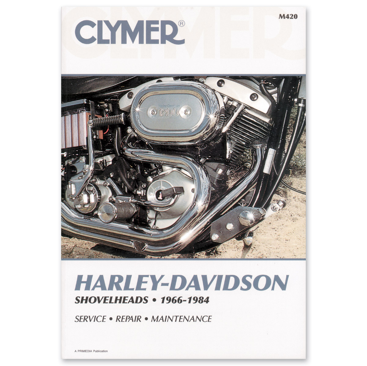 Clymer 1966-84 Shovelhead Repair Manual