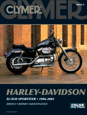 Clymer 1986-2003 Evolution Sportster Repair Manual