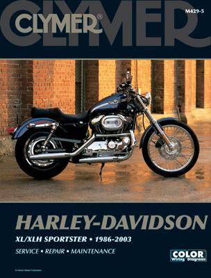 clymer sportster repair manual 160 032 j p cycles rh jpcycles com Add a Kickstart to a 1994 Harley Sportster 1990 Sportster