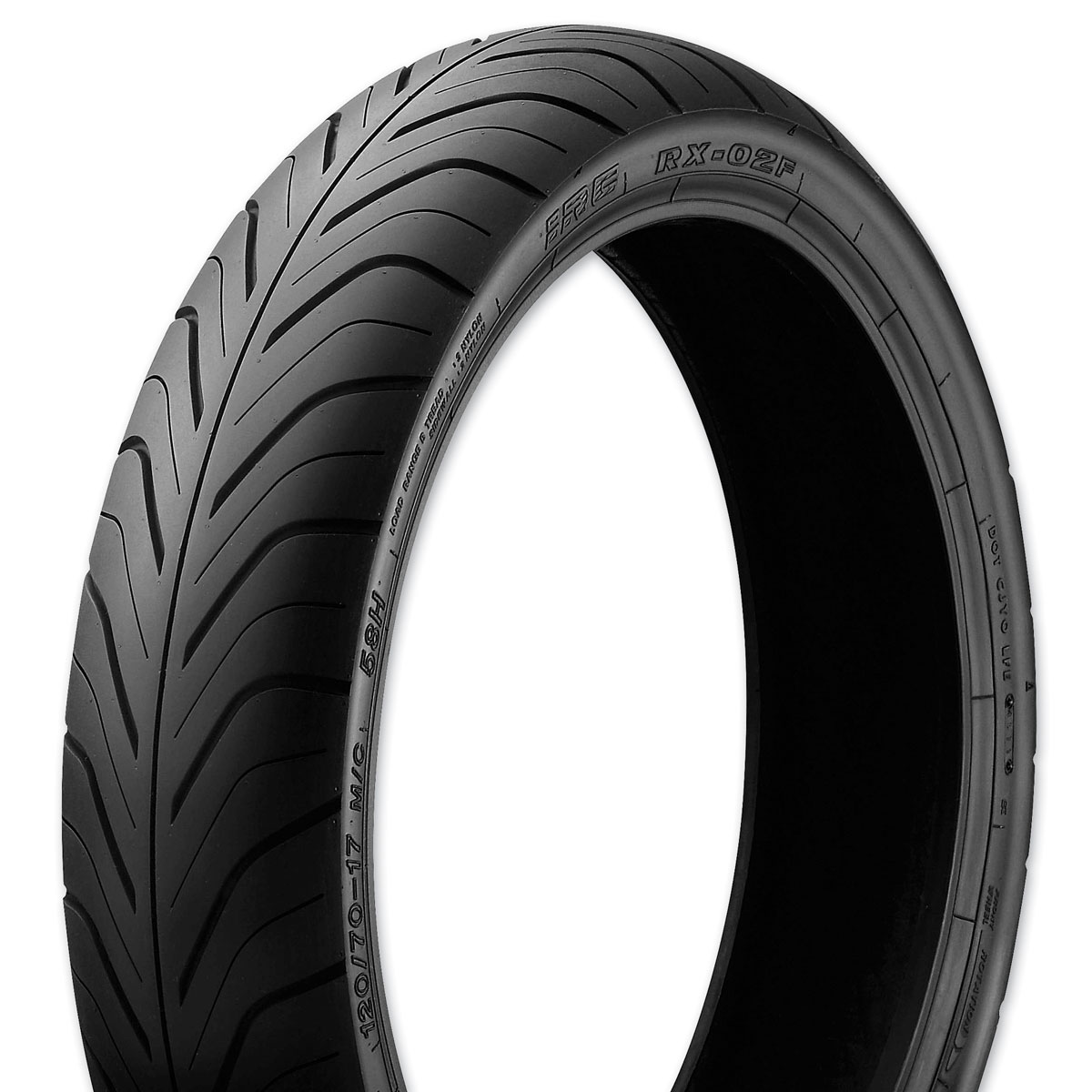 IRC RX-02 120/70-17 Front Tire