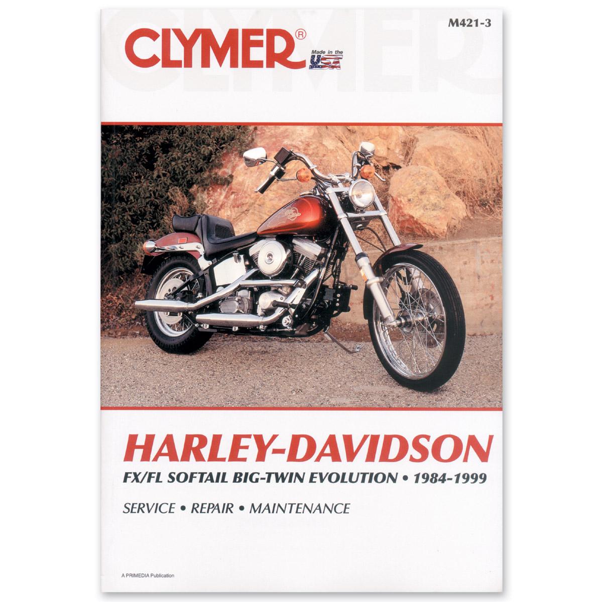 Clymer 1984-99 FLS, FXS Evolution Softail Repair Manual