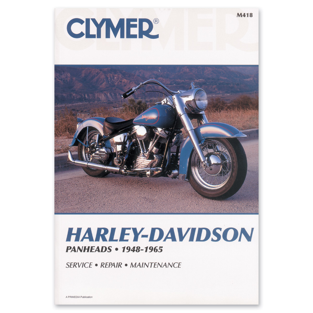 clymer panhead repair manual 160 038 j p cycles rh jpcycles com 2008 Victory Hammer Victory Motorcycle Logo