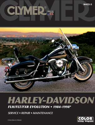 Clymer 1984-98 Evolution Big Twin Repair Manual