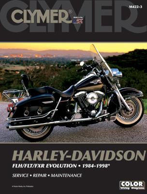 Clymer 1984-98 FLH, FLT, FXR Evolution Repair Manual