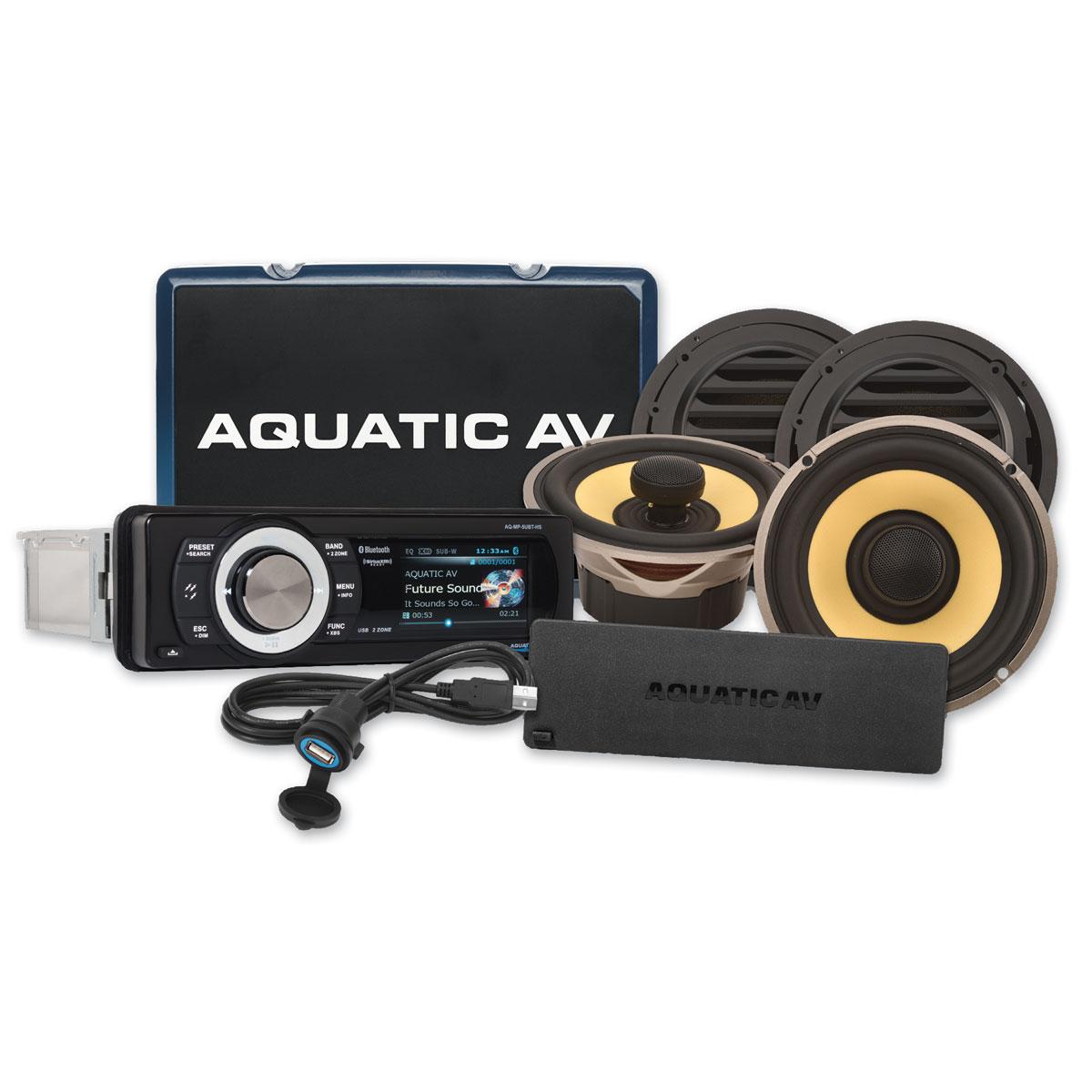 Aquatic AV Ultra SiriusXM, Bluetooth, Audio Package