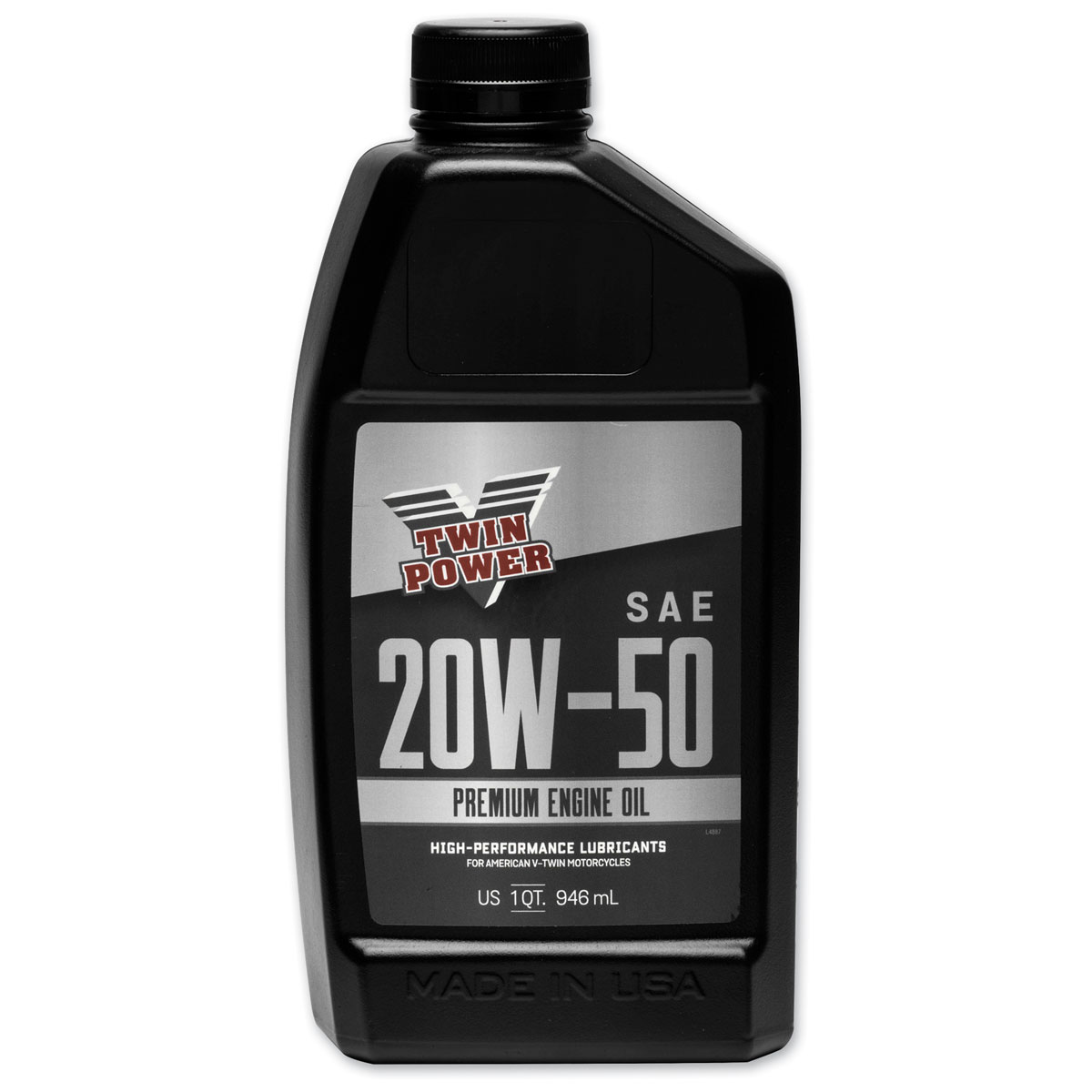 Twin Power Premium 20W50 Engine Oil Quart