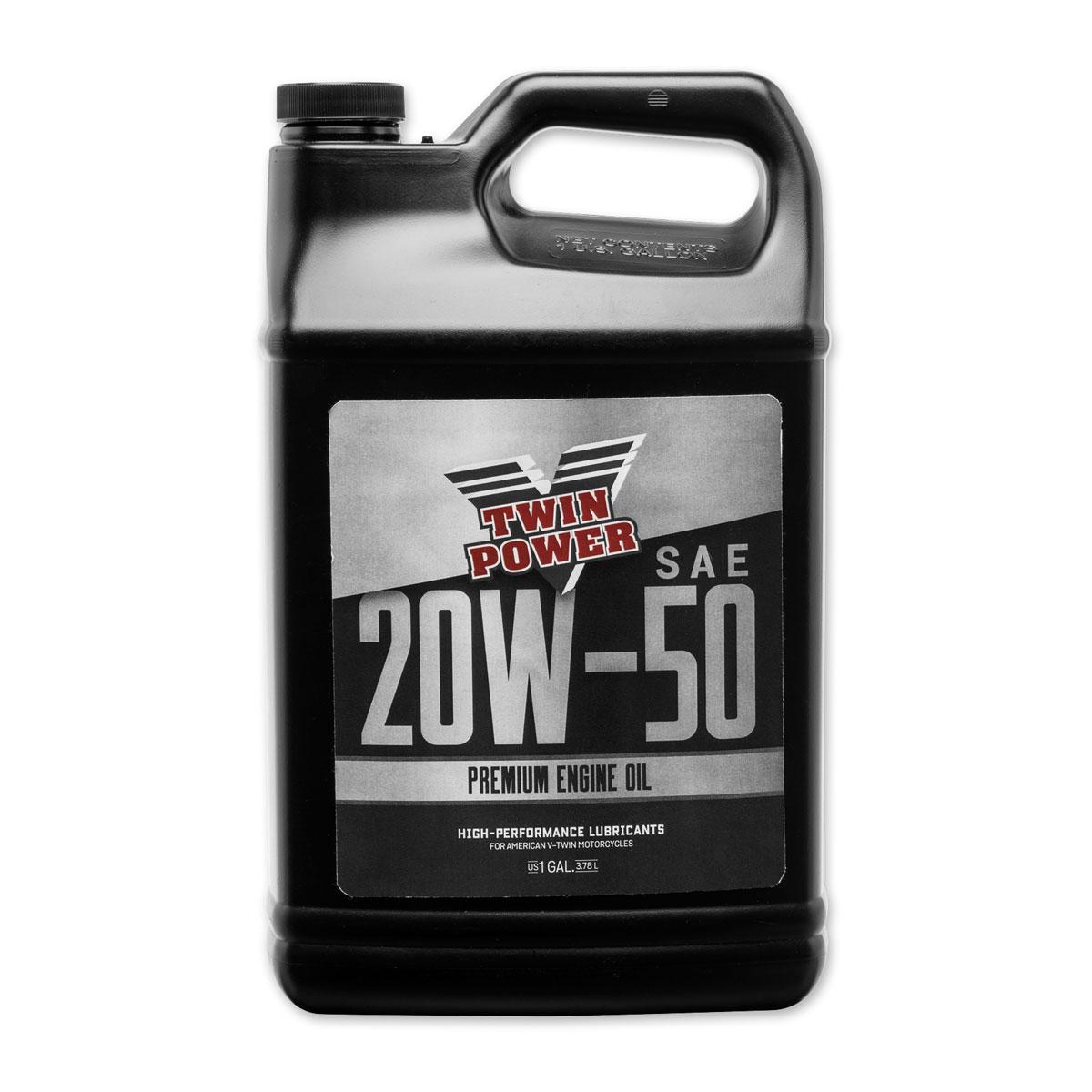 Twin Power Premium 20W50 Engine Oil Gallon