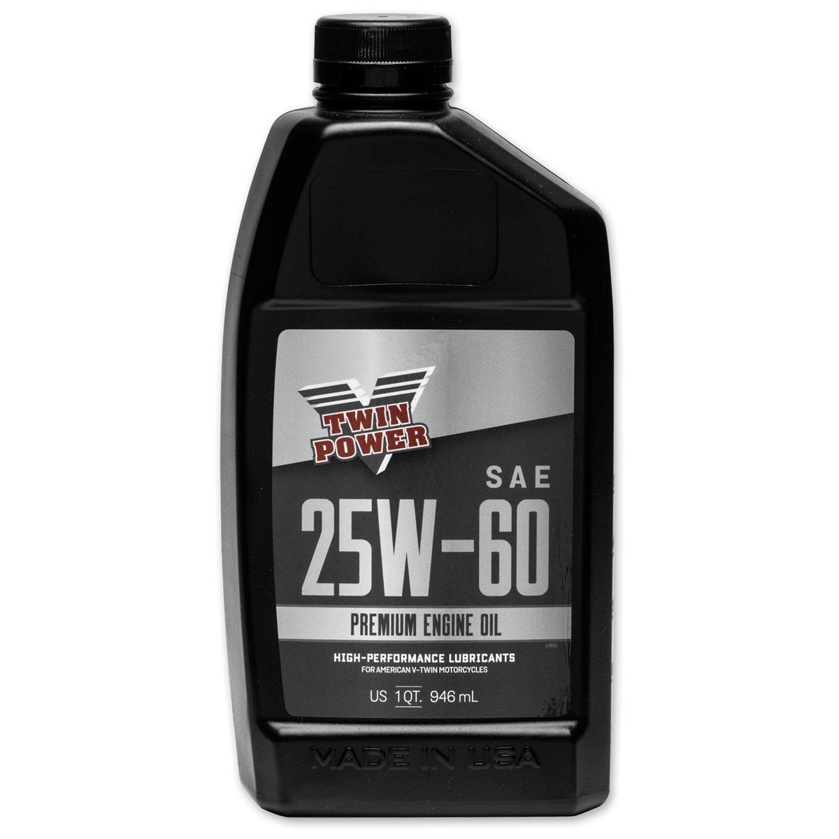 Twin Power Premium 25W60 Engine Oil Quart