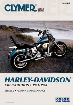 Clymer 1991-98 Dyna Glide Repair Manual