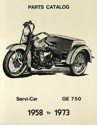 V-Twin Manufacturing Servi-Car Parts Catalog