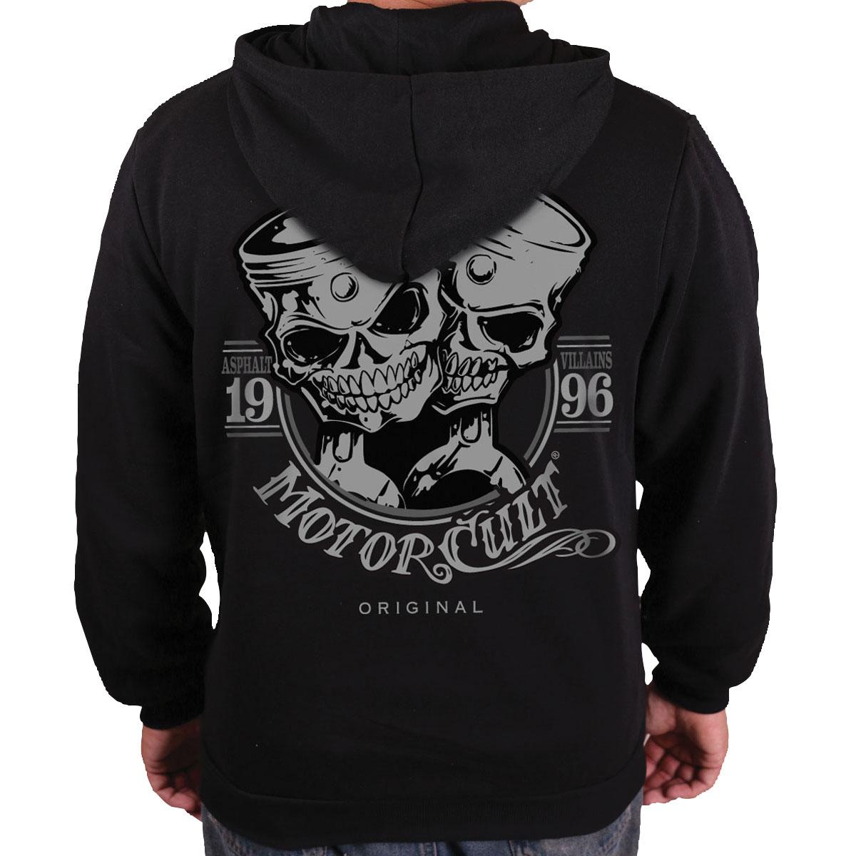 MotorCult Men's One & Only Black Hoodie