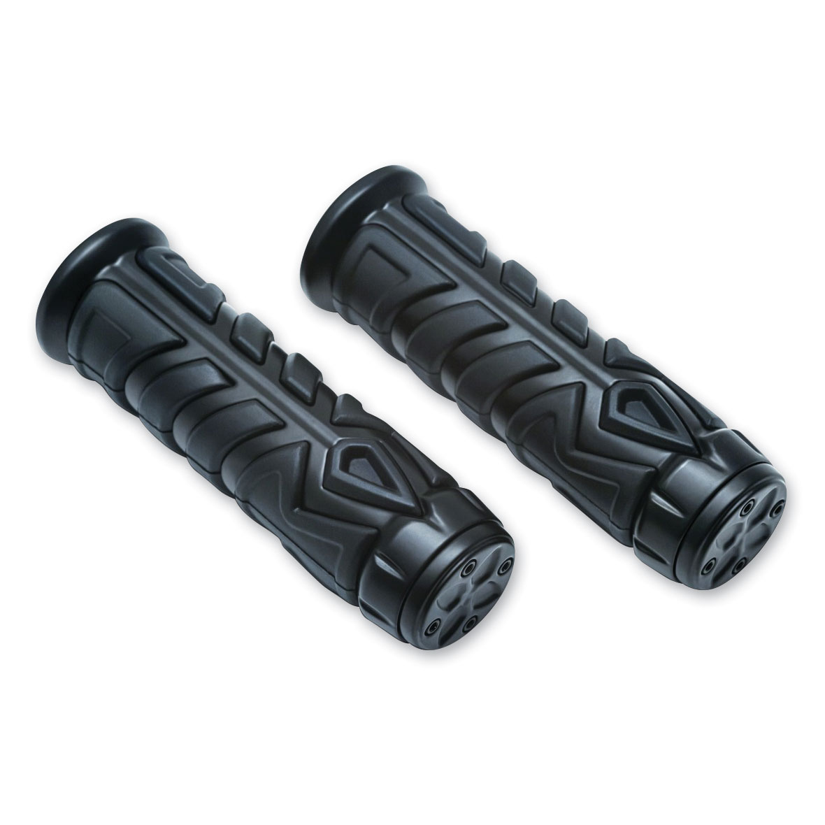 "Kuryakyn Spear Grips Black for 1"" Bars"