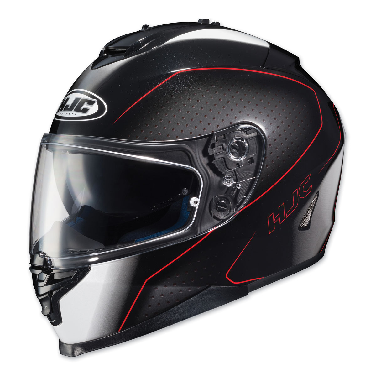 HJC IS-17 Arcus Black/Red Full Face Helmet