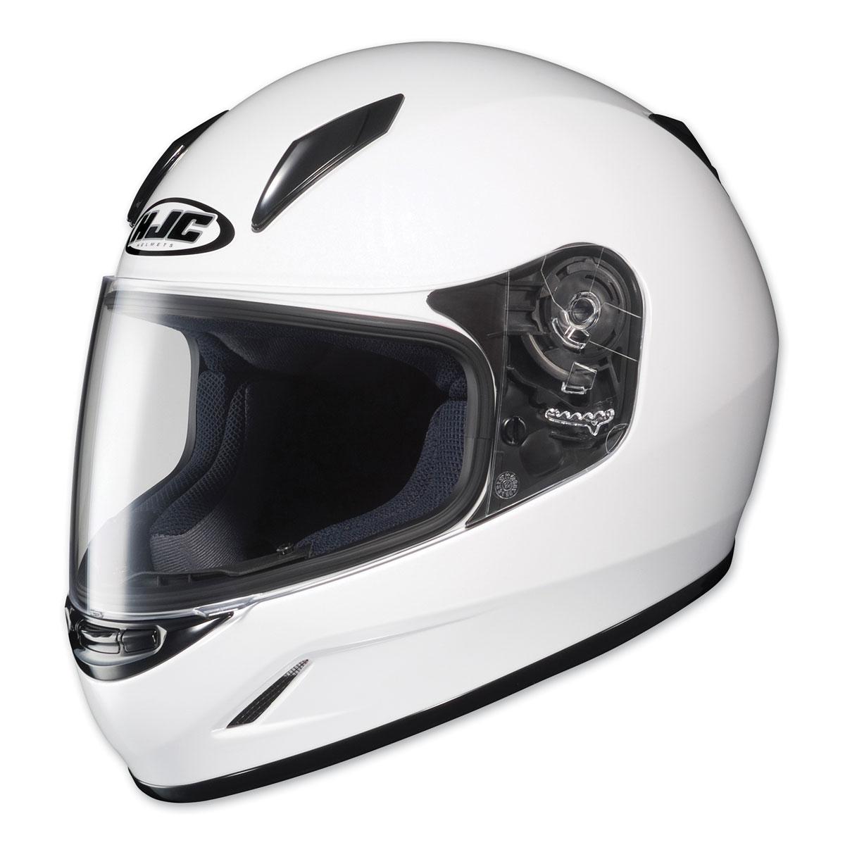 HJC CL-Y Youth White Full Face Helmet