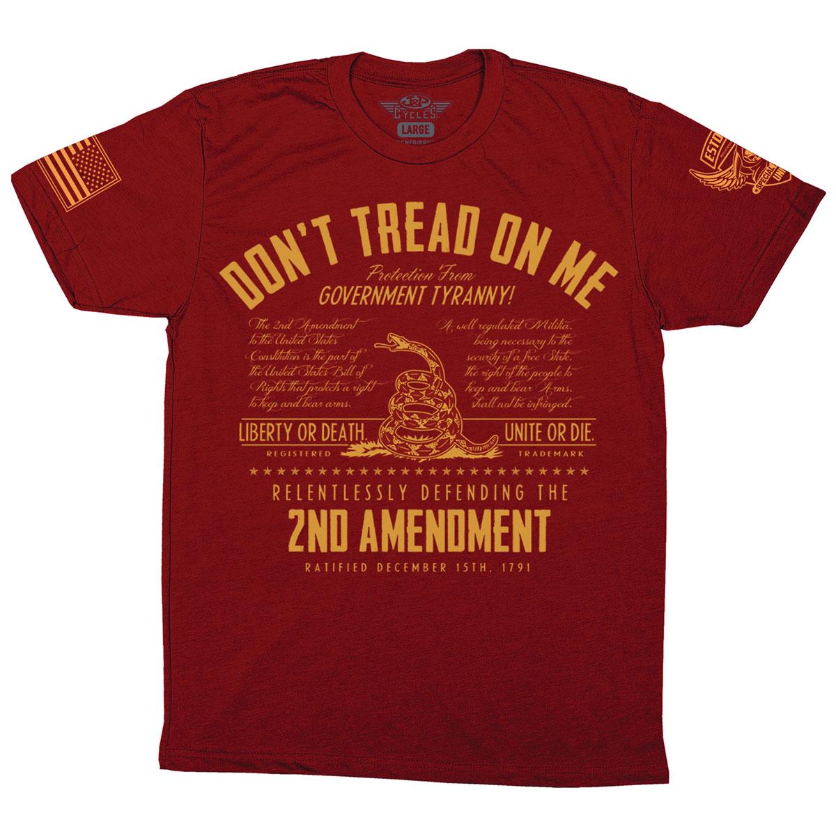 Iron Reaper Men's Treadless Cardinal T-Shirt