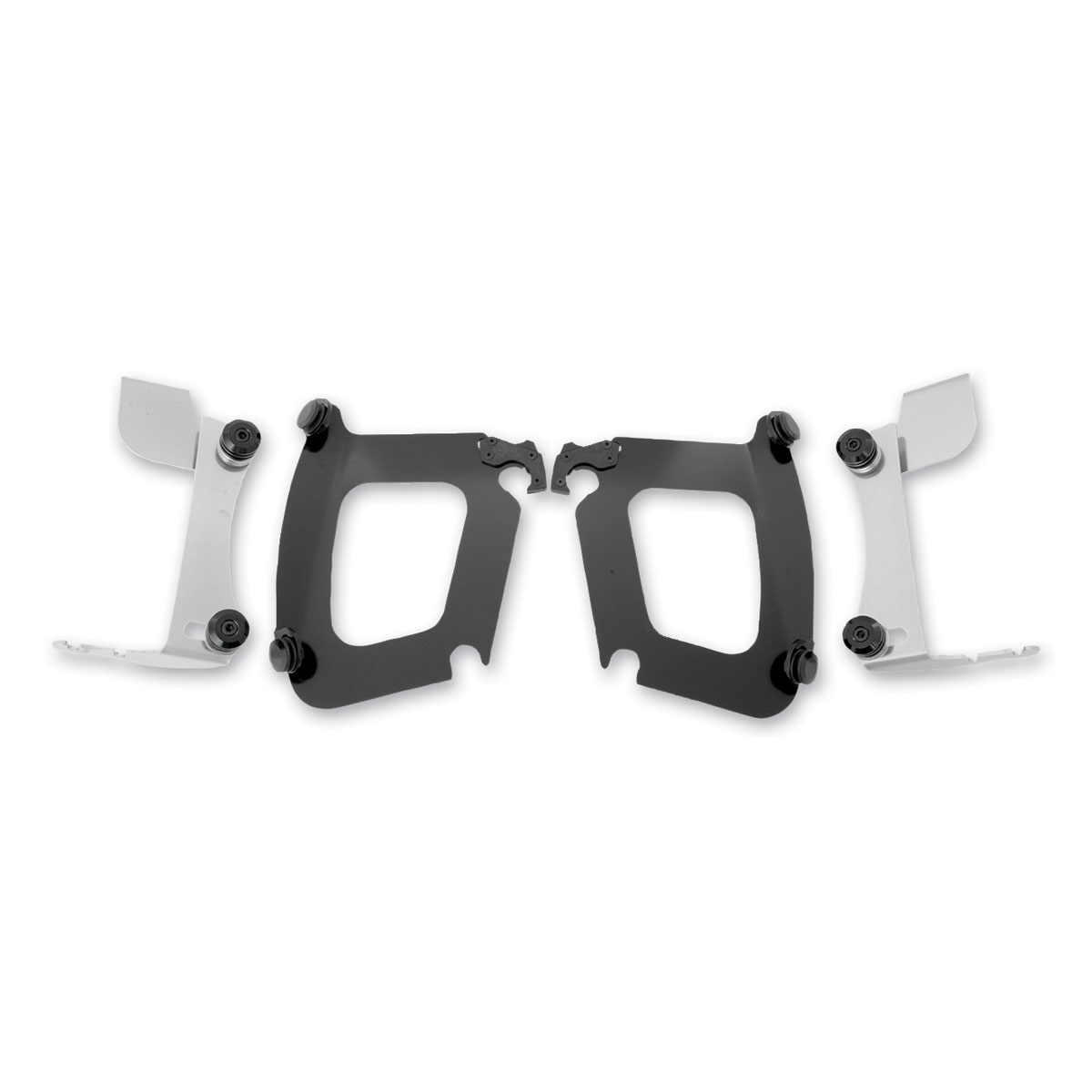 Memphis Shades Bullet Fairing Black Trigger Lock Mount Kit