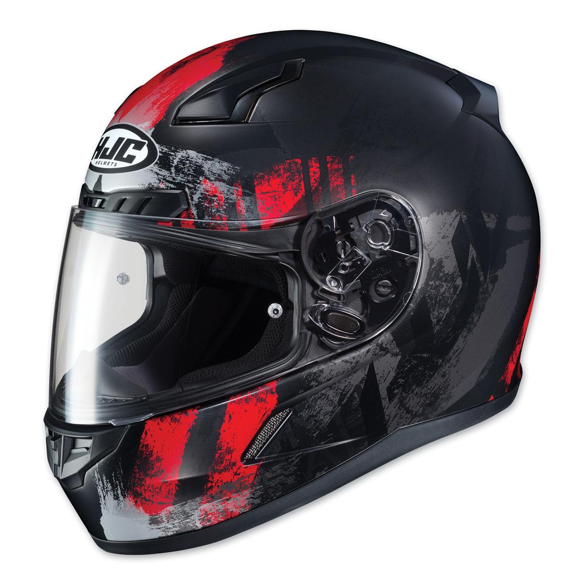 HJC CL-17 Arica Red/Black Full Face Helmet