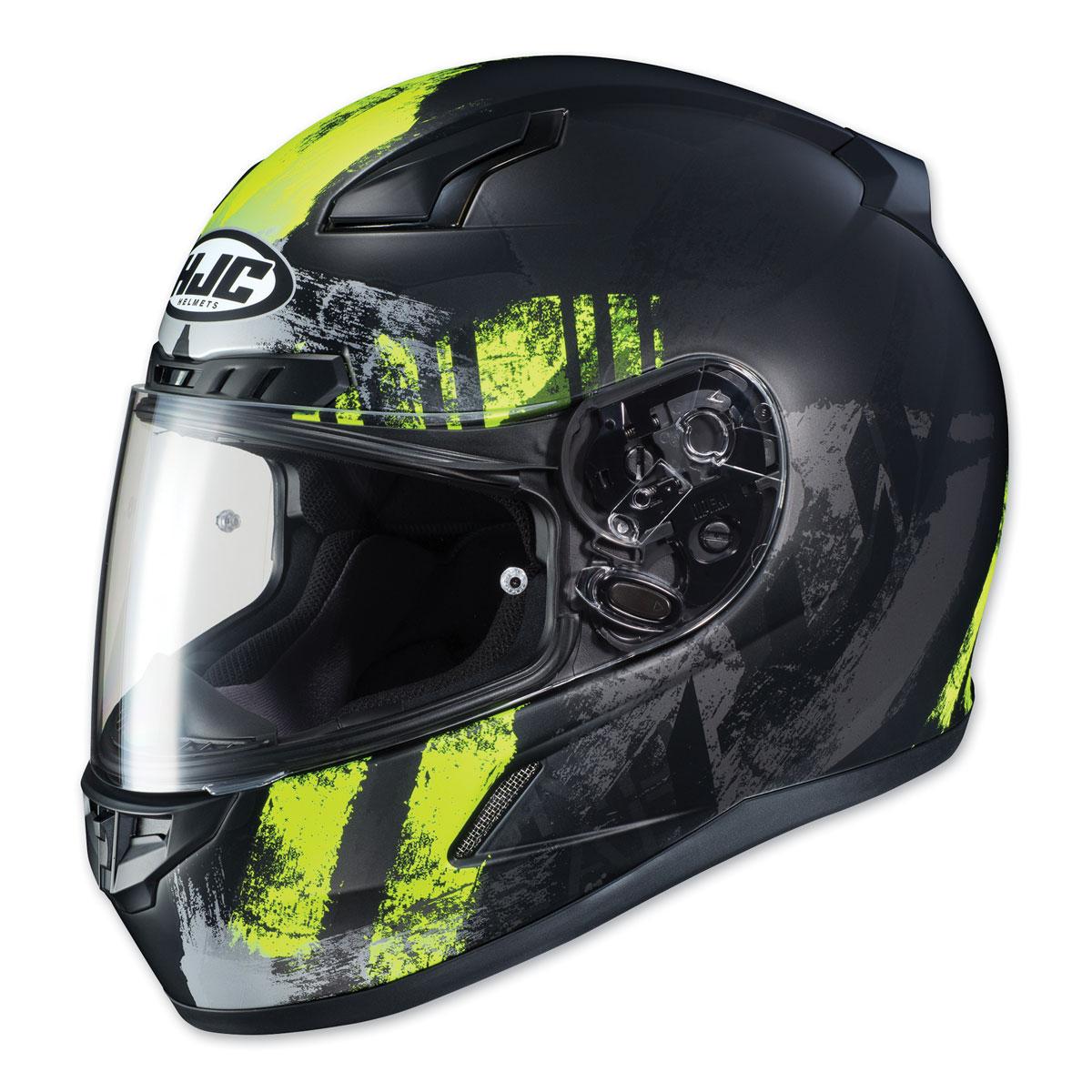 HJC CL-17 Arica Hi-Viz/Black Full Face Helmet