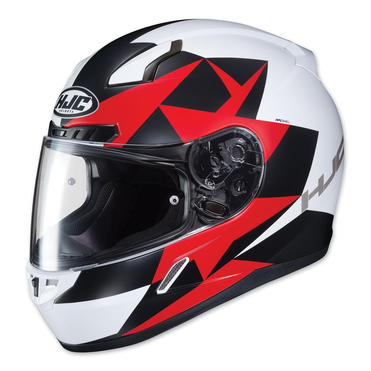 HJC CL-17 Ragua White/Black/Red Full Face Helmet
