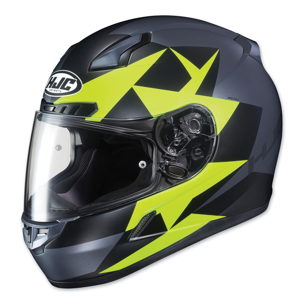 HJC CL-17 Ragua Hi-Viz/Gray Full Face Helmet