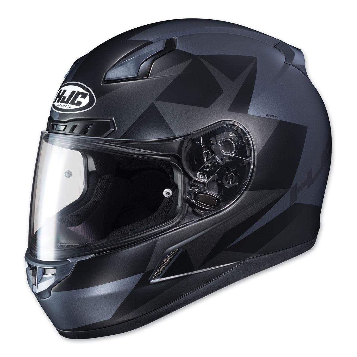 HJC CL-17 Ragua Gray/Black Full Face Helmet