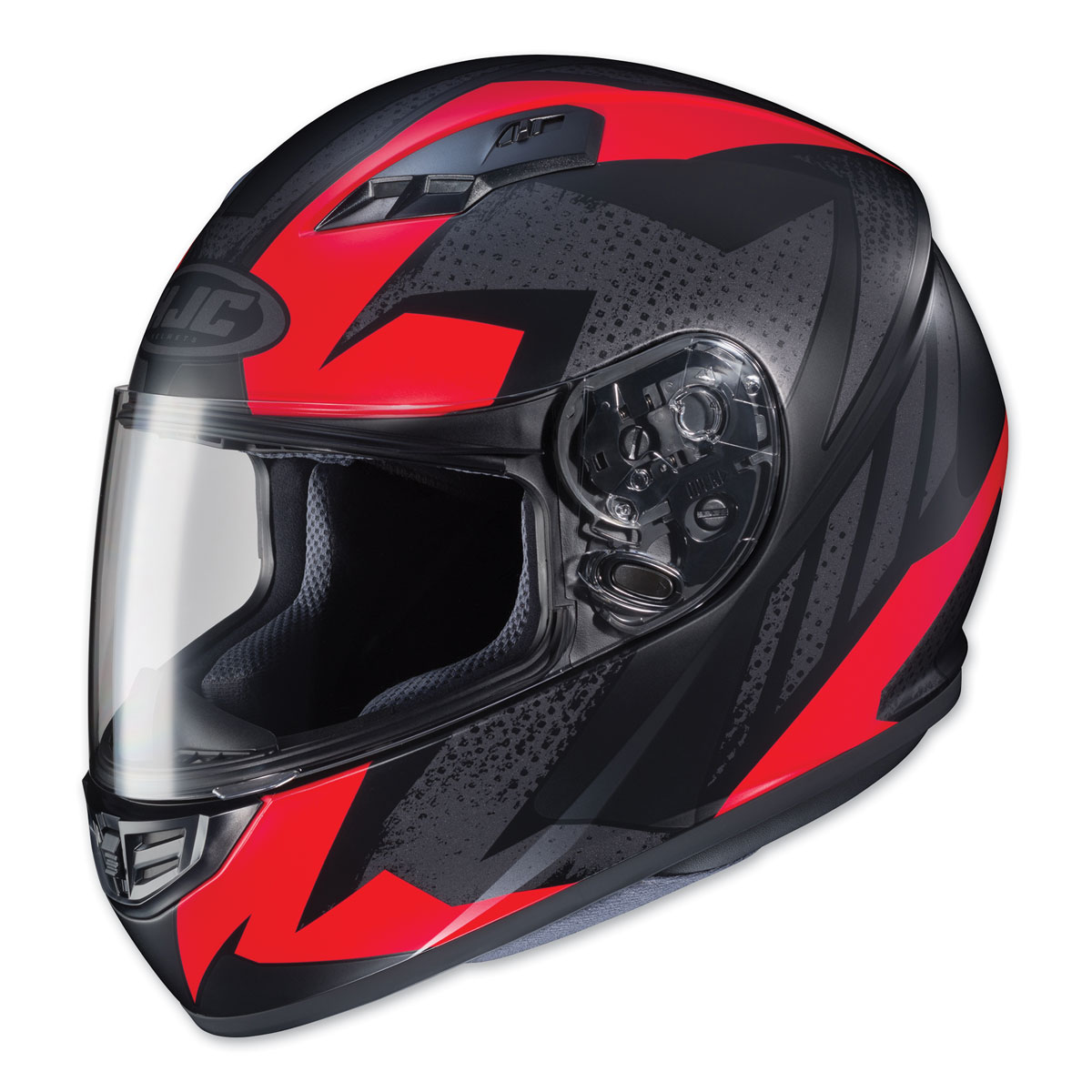 HJC CS-R3 Treague Black/Red Full Face Helmet