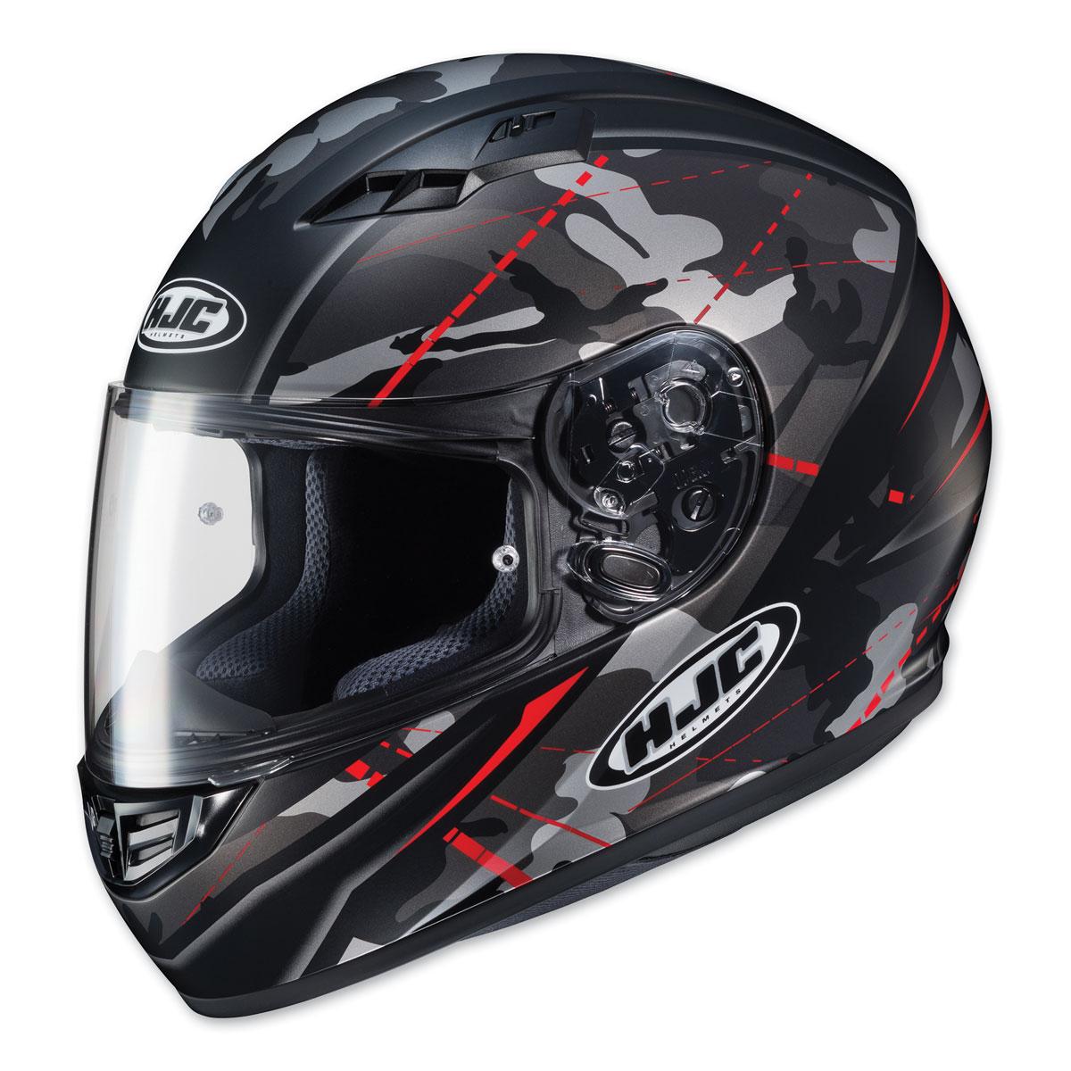 HJC CS-R3 Songtan Black Camo/Red Full Face Helmet