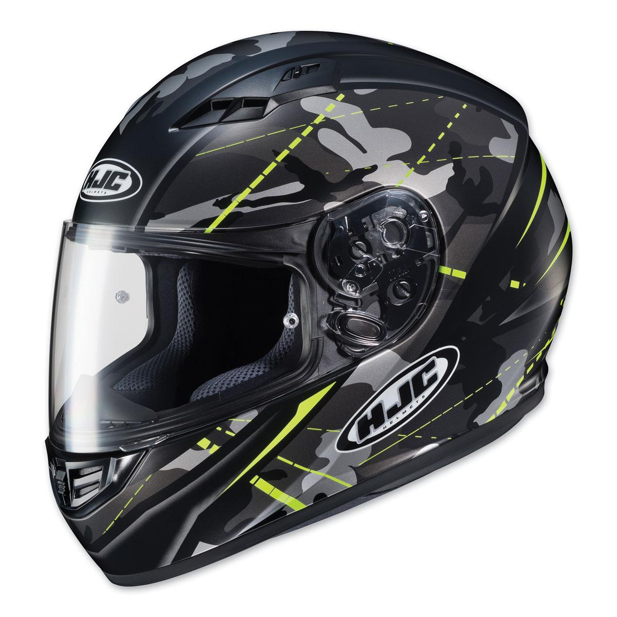 HJC CS-R3 Songtan Black Camo/Hi-Viz Full Face Helmet