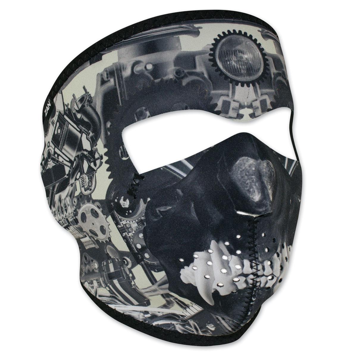 ZAN headgear Neoprene Sprocket Skull Full Mask
