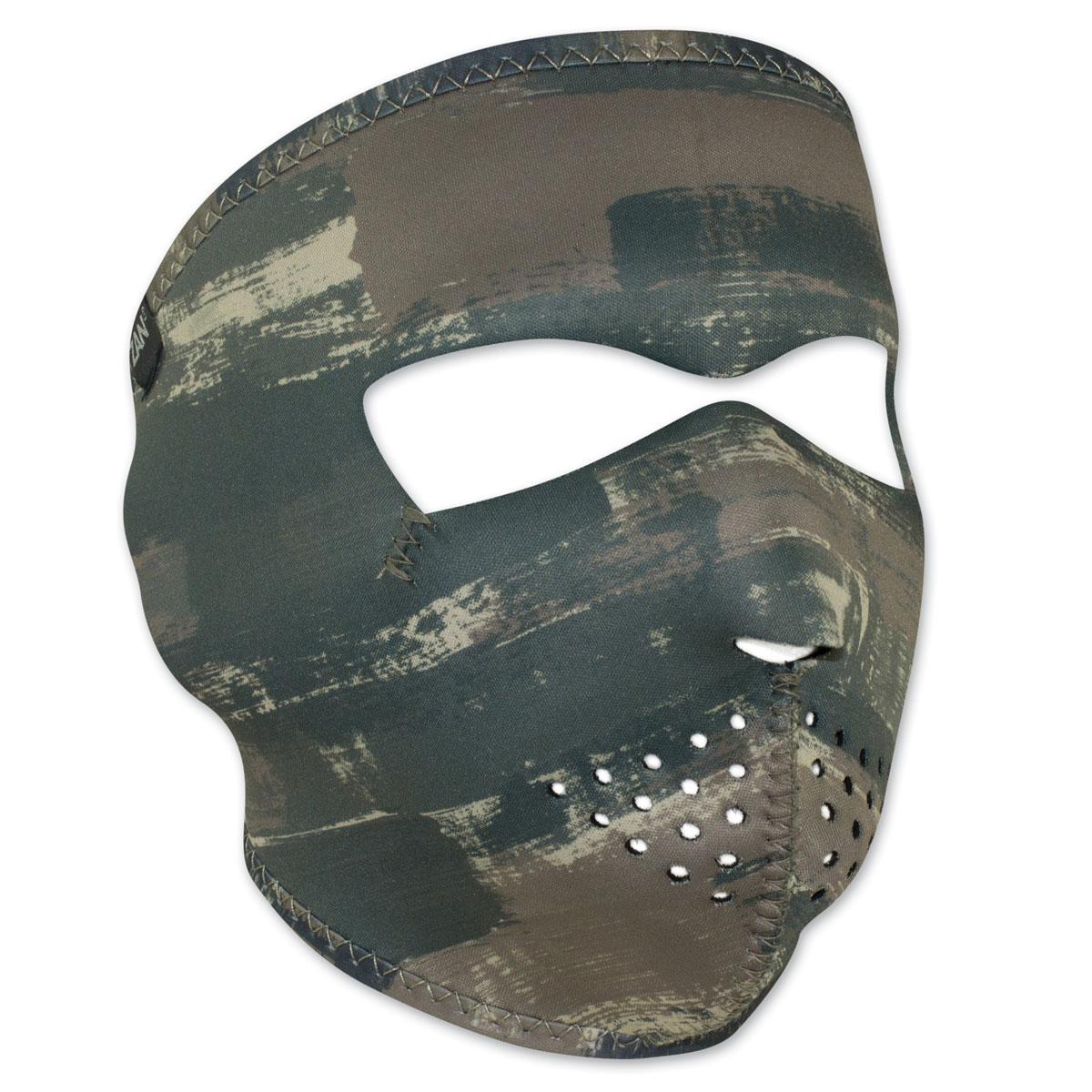 ZAN headgear Neoprene Dark Brushed Camo Full Mask