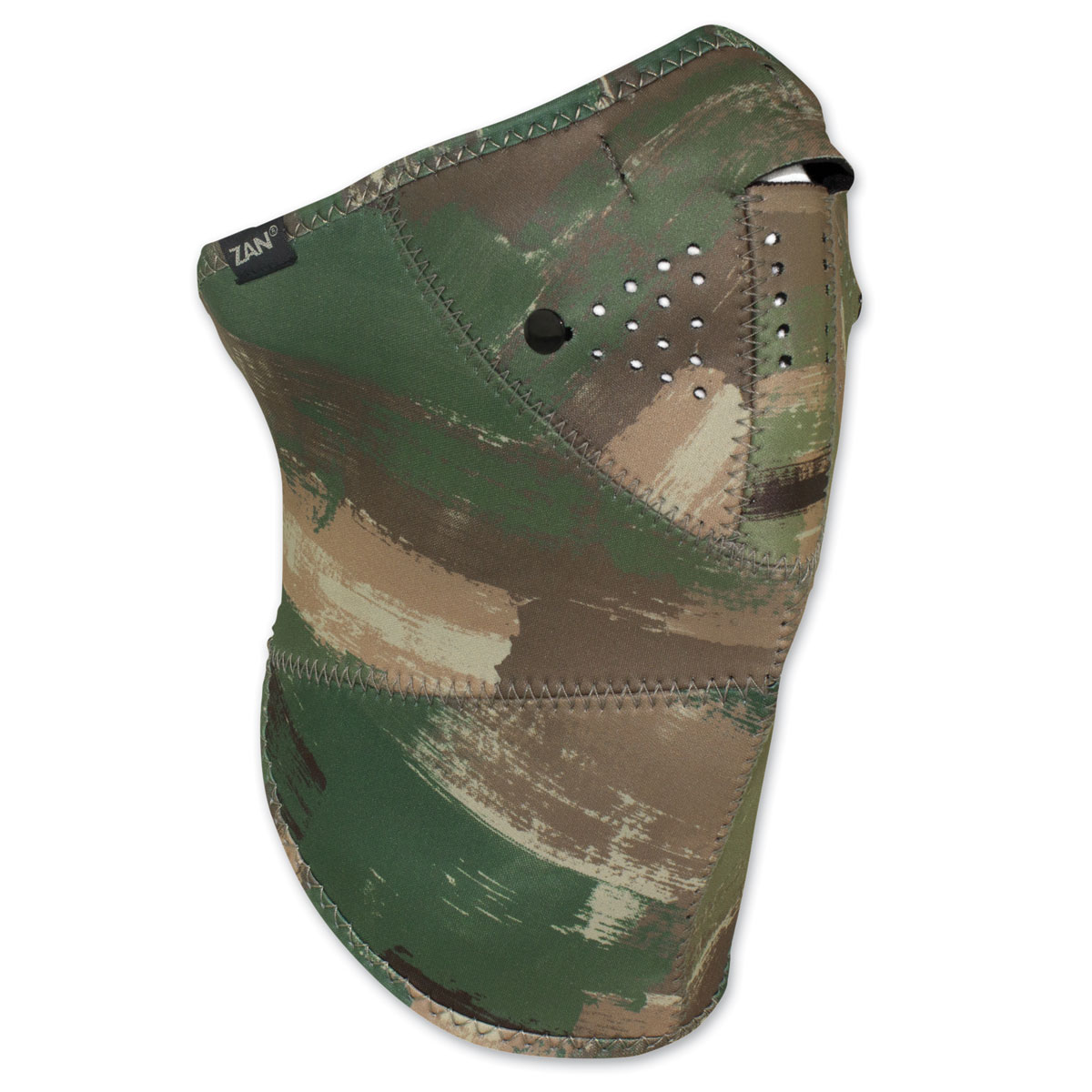 ZAN headgear 3 Panel Neo-X Multi Brushed Camo Neoprene Mask