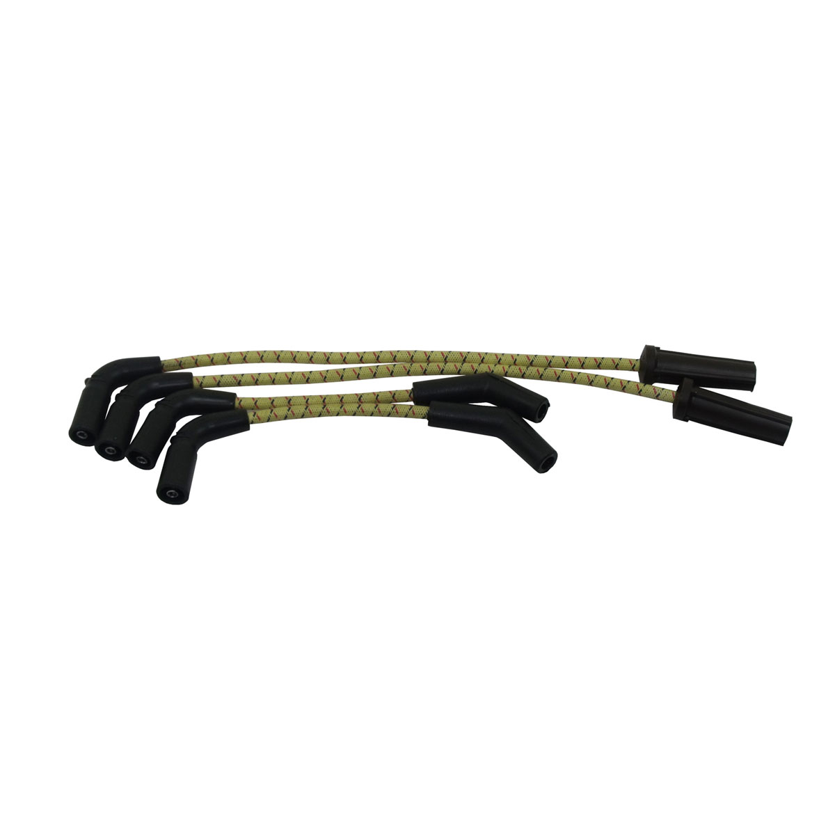 Sumax Yellow and Black with Red Classic Thunder Spark Plug Wire Set