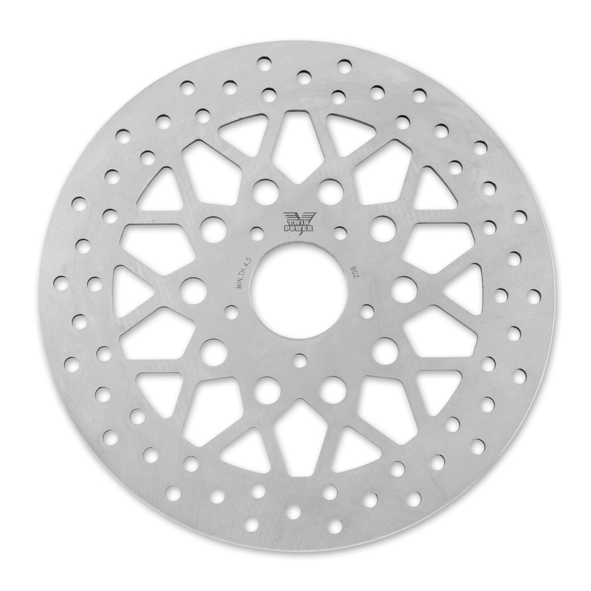 Twin Power Front Non Floating Mesh Design Brake Rotor