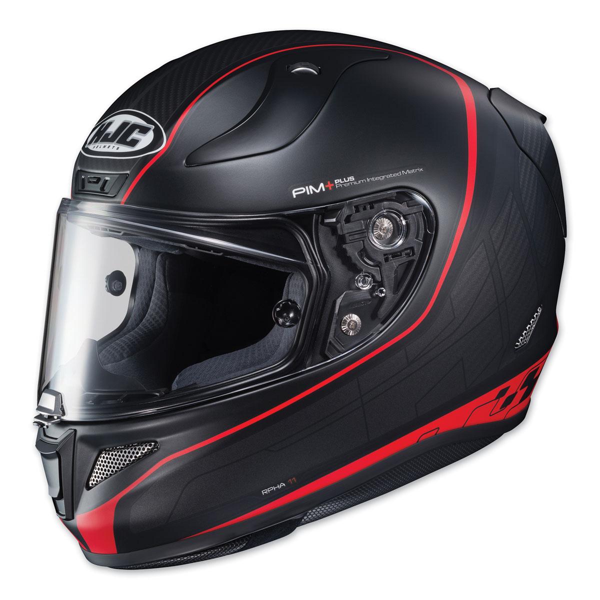 HJC RPHA 11 Pro Riberte Black/Red Full Face Helmet