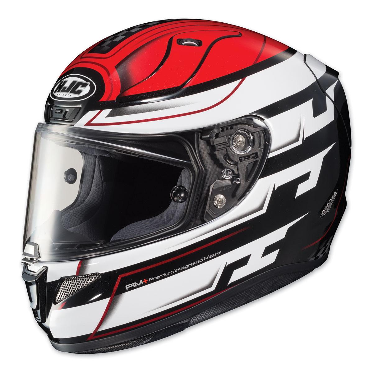 HJC RPHA 11 Pro Skyrym Red/White Full Face Helmet