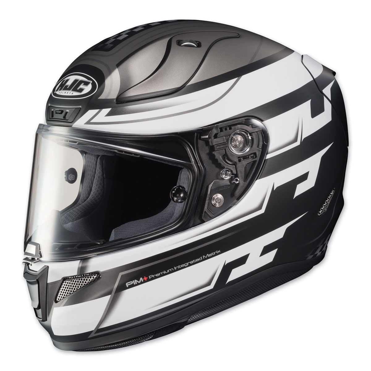 HJC RPHA 11 Pro Skyrym Silver/White Full Face Helmet