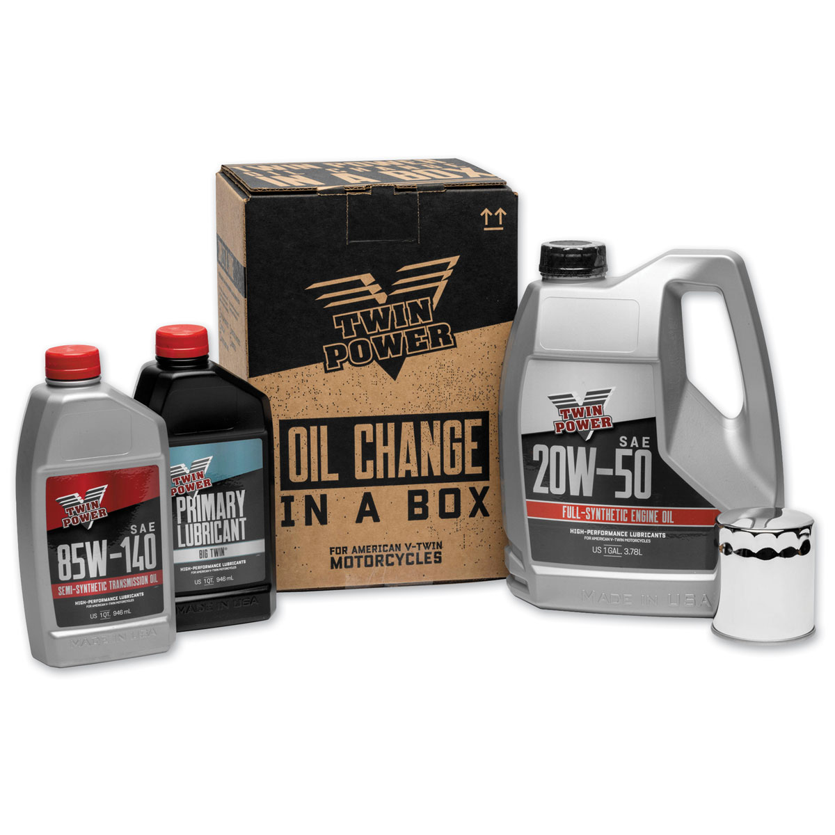 Twin Power Synthetic Oil Change Kit - 539048