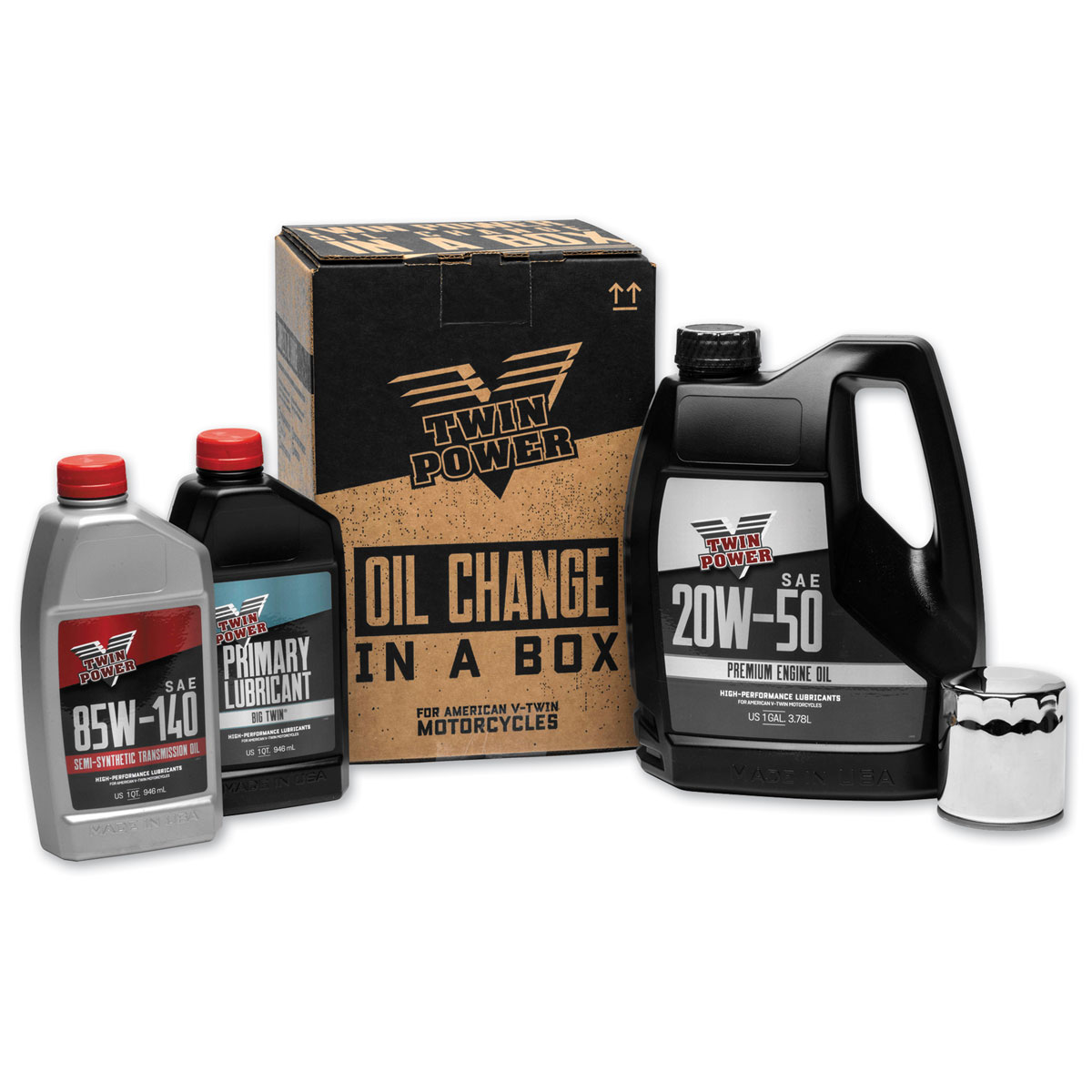 Twin Power Oil Change Kit for my V Twin