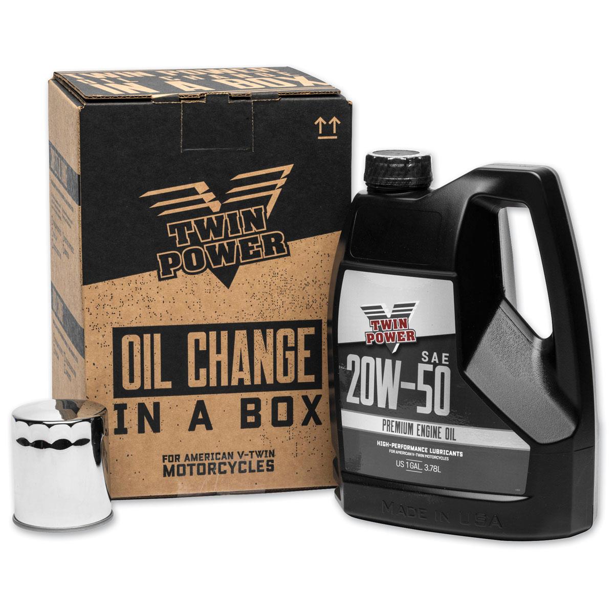 Twin Power Quick Change Oil Change Kit