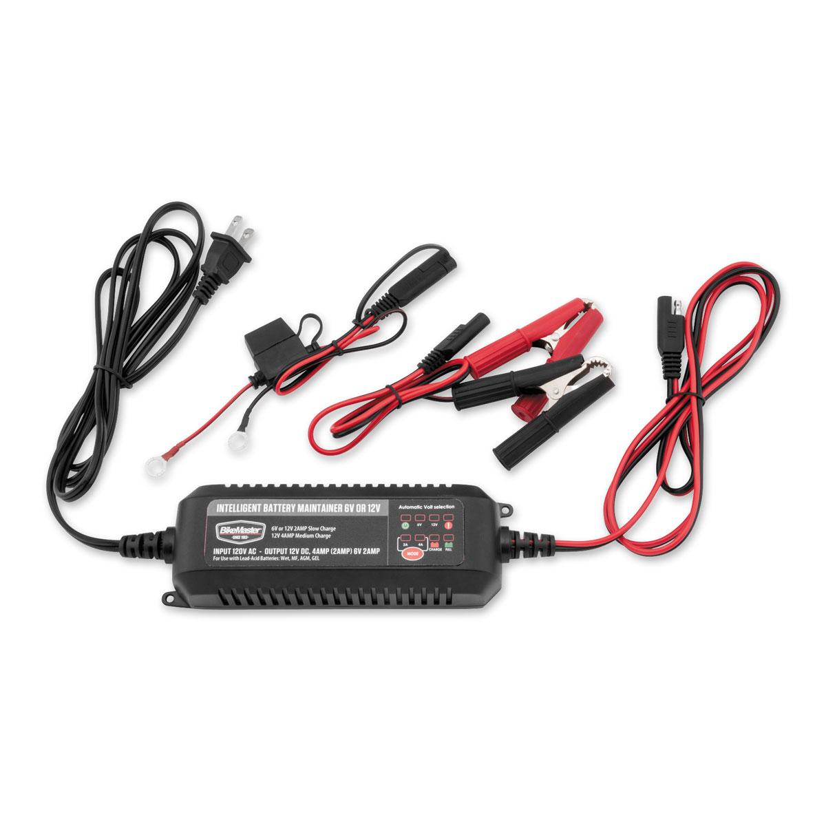 BikeMaster Intelligent Battery Charger/Maintainer