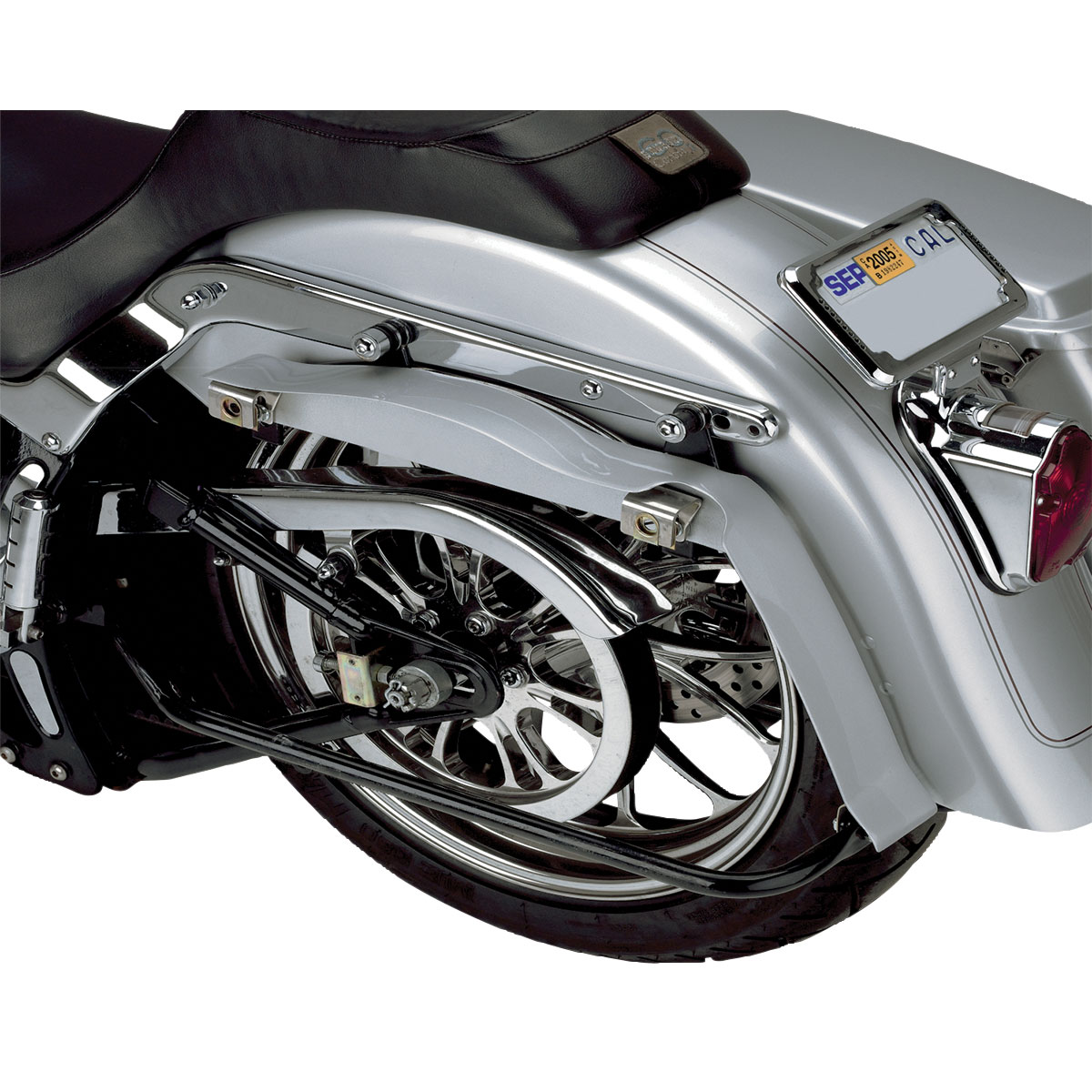 CycleVisions Saddlebag Filler Panels Chrome