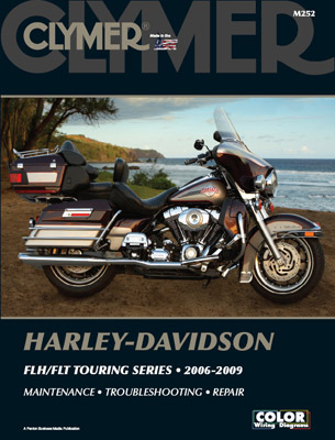 clymer flh flt repair manual 160 193 j p cycles rh jpcycles com 2005 FLHTPI 2005 Harley-Davidson Ultra Glide