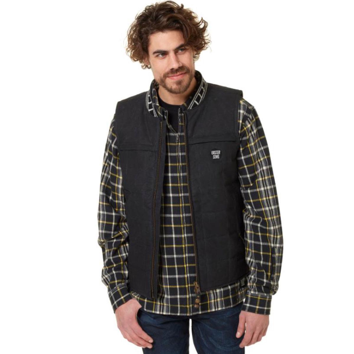 Roland Sands Design Apparel Faster Sons Men's Ringo Black Vest
