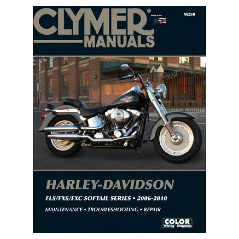Clymer 2006-10 FXST, FLST, FXCW Softail Repair Manual