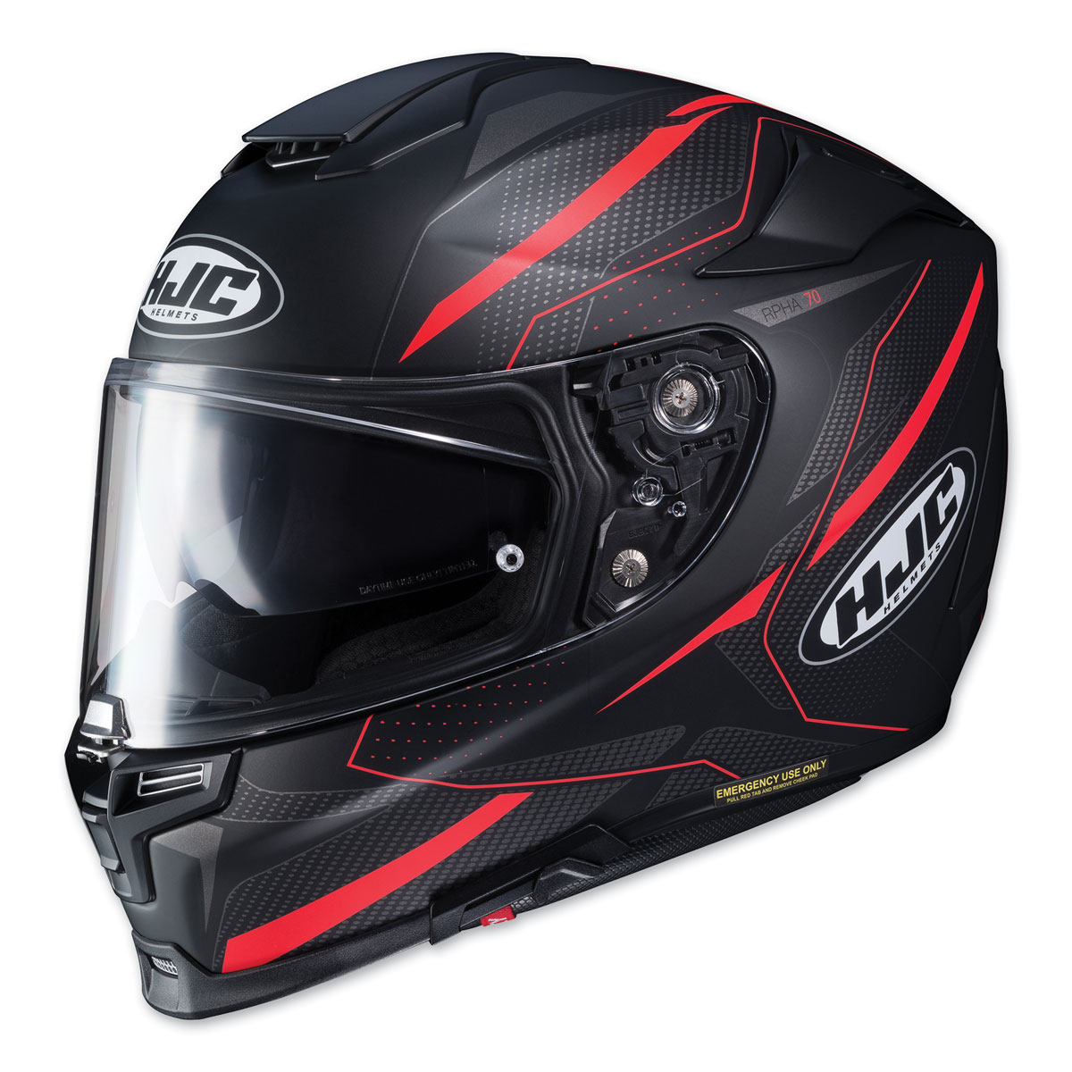 HJC RPHA 70 ST Dipol Red/Black Full Face Helmet