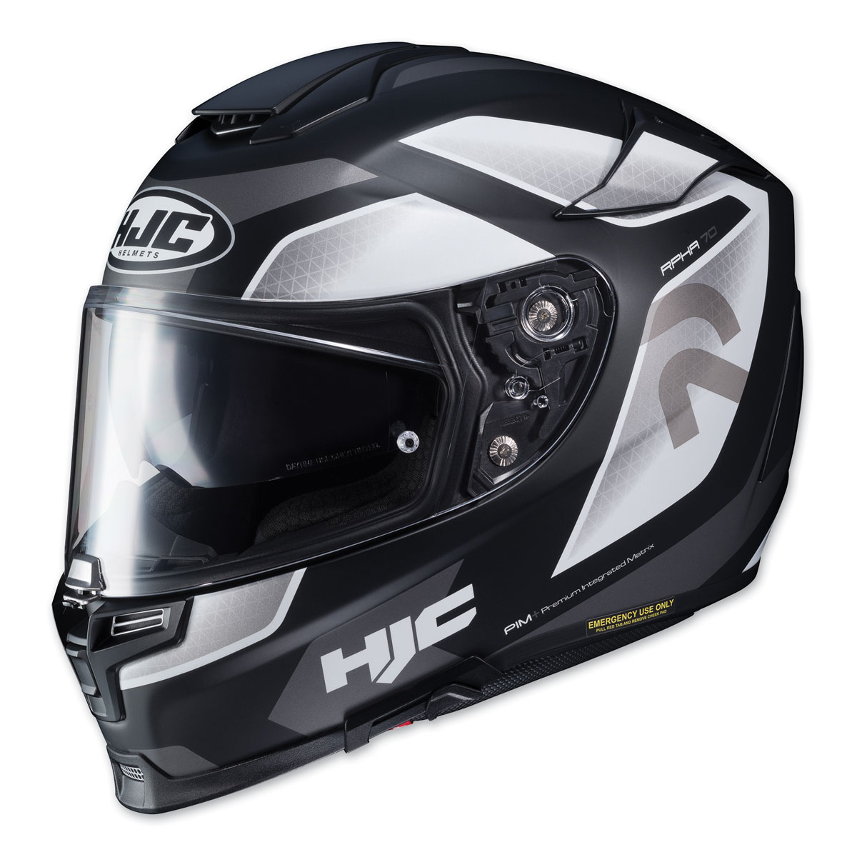 HJC RPHA 70 ST Grandal Black/White Full Face Helmet