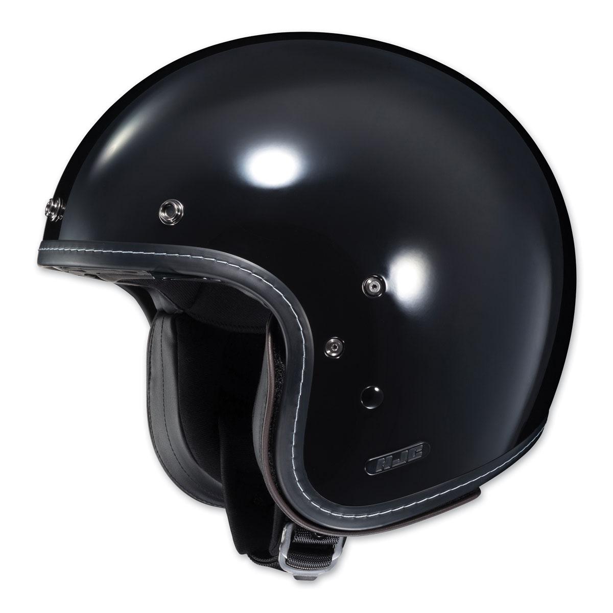 HJC IS-5 Gloss Black Open Face Helmet