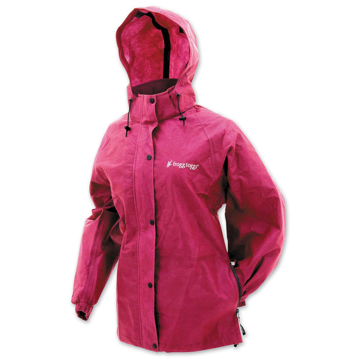 Frogg Toggs Women's Pro Action Cherry Rain Jacket