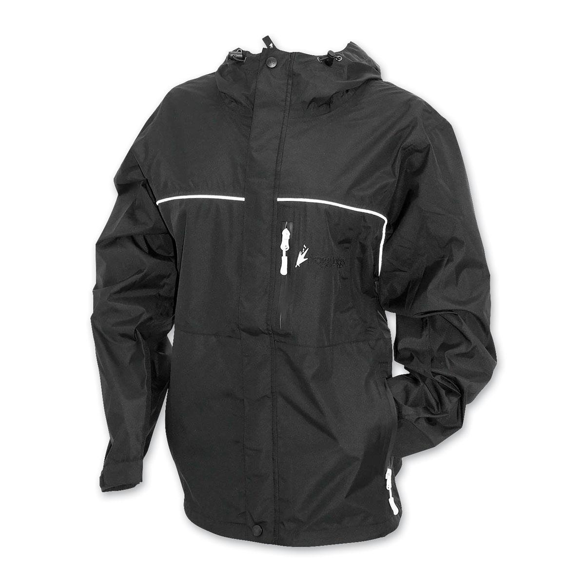 Frogg Toggs Women's Java Toadz Black Rain Jacket